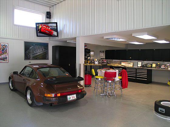 Turn Your Garage Into A Man Cave Cool Garages Garage Design Garage Interior