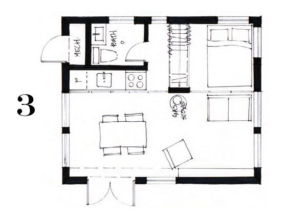 Pin By Isaac A On Small Spaces Cottage Floor Plans Small Floor Plans Cottage House Plans