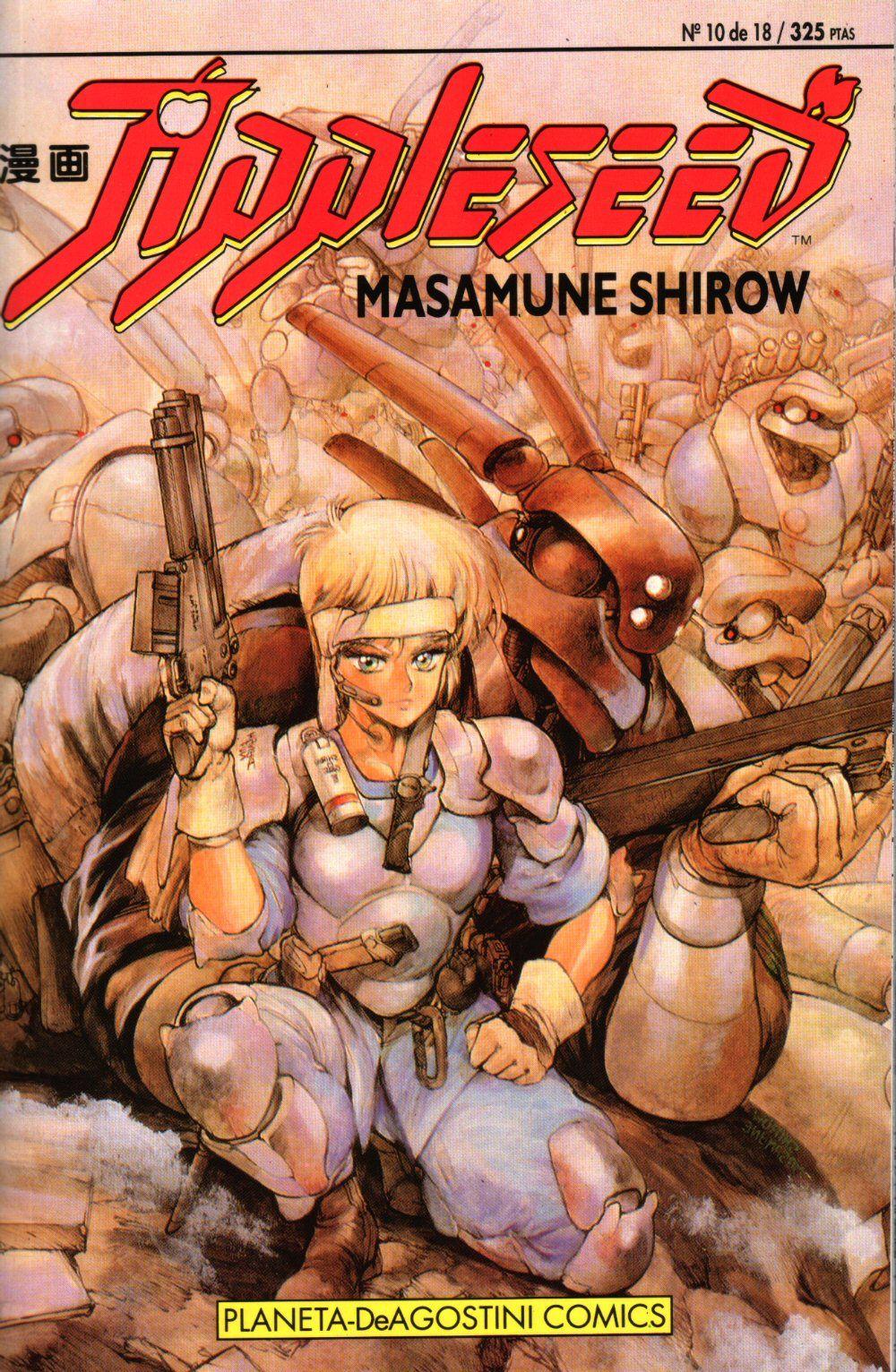 Appleseed 10 Gracias A Nadeshiko Fansub Masamune Shirow Anime Anime Japan
