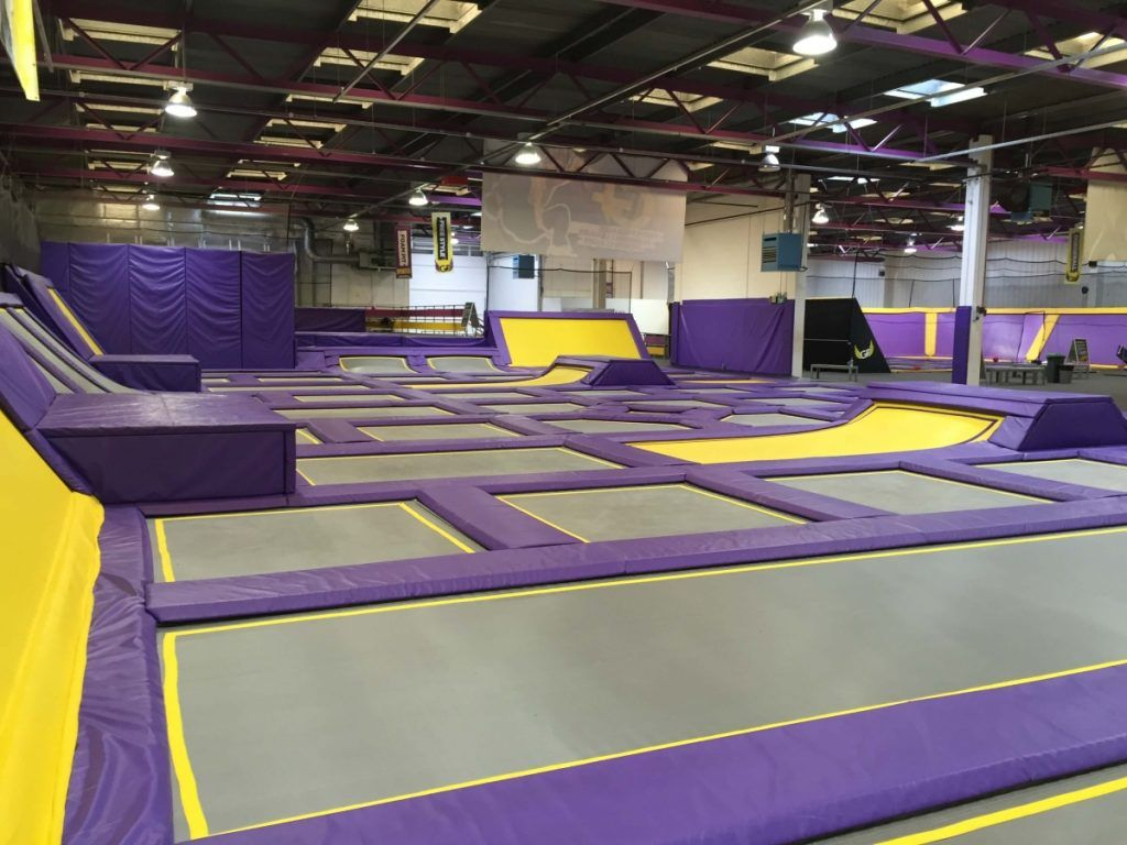 10 Fun Places You Have To Visit With Your Friends Best Trampoline Park Trampoline Park Places