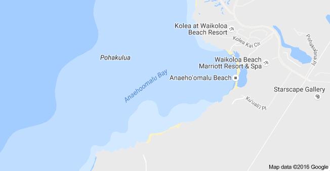Map of Anaehoomalu Bay, Puako, HI 96738 | Big Island Weddings ... Kolea Map on wailea beach marriott map, hali'i kai map, fairway villas map, napili point map, halii kai map, hawaii kai map, luana kai map, constantine map, grand wailea map, pauoa beach map, oran map,
