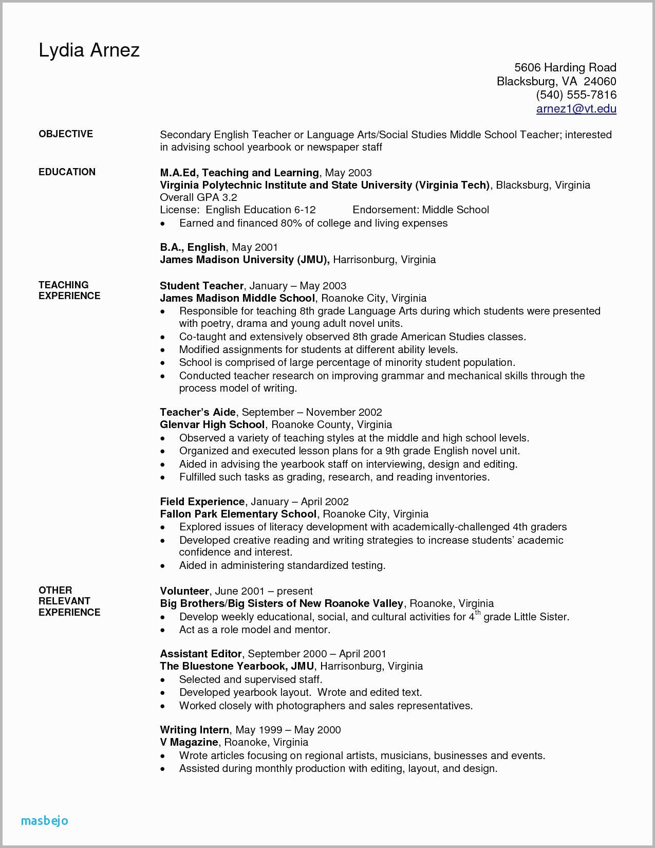 77 Luxury Images Of Government Employee Resume Examples