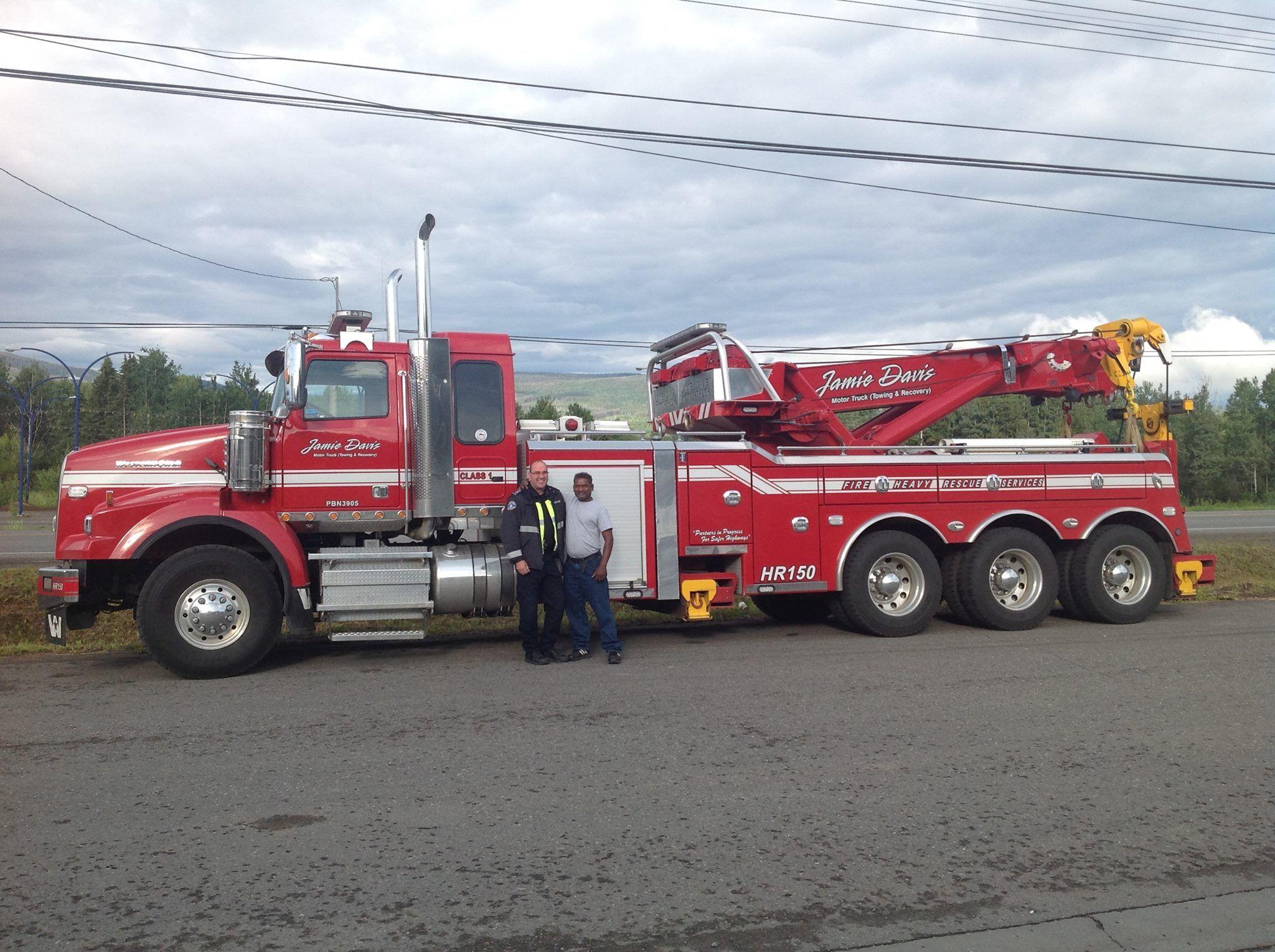 Jamie davis tow trucks pinterest tow truck rigs and