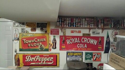 I enjoy collecting the old signs.  It's great to find them in their original location!