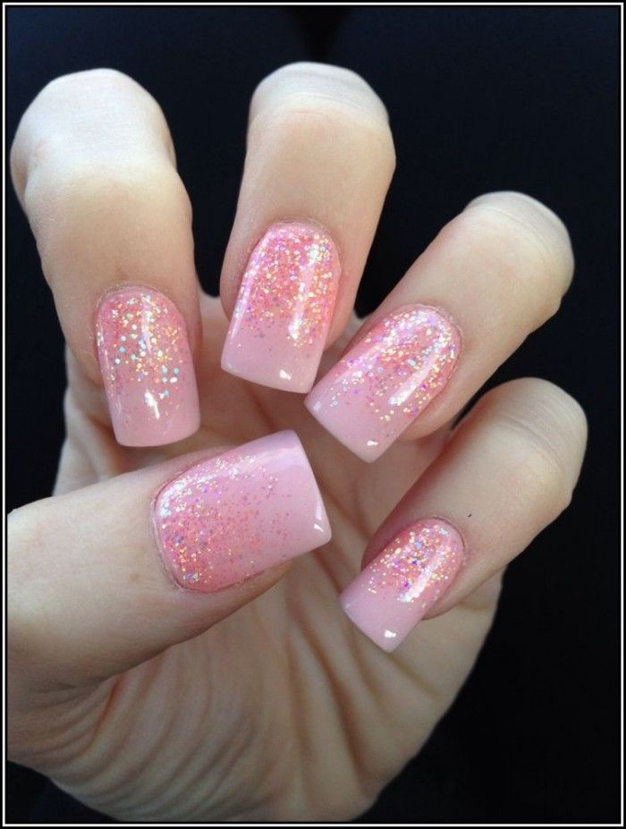 Ombre glitter? | Nail Ideas | Pinterest | Ombre and Makeup