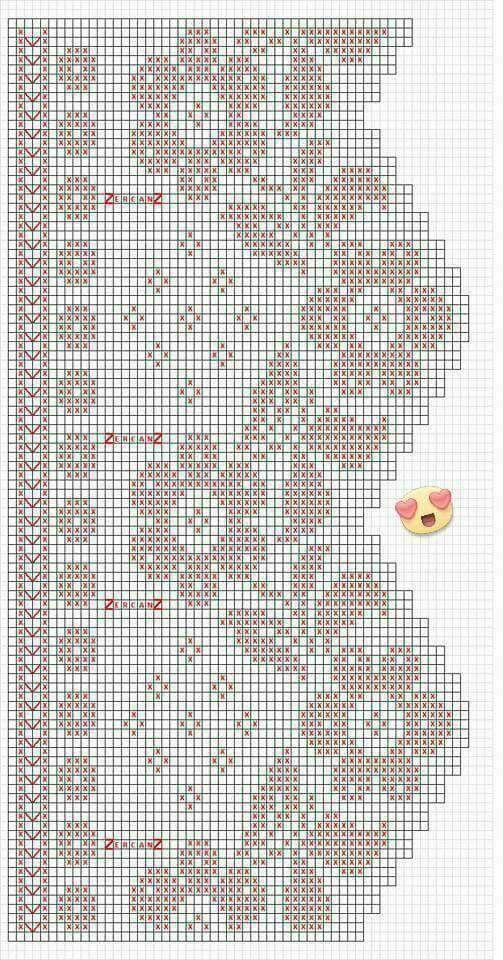 crochet border filet | KENAR DANTELİ | Pinterest | Cortinas ...