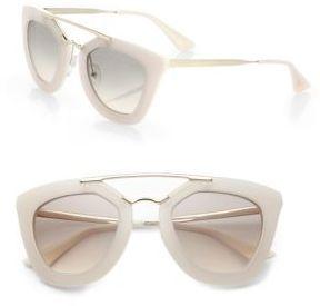 7770aa9eacad ... amazon prada 49mm angular frame sunglasses sunglasses womens summer  ac257 fd7b0