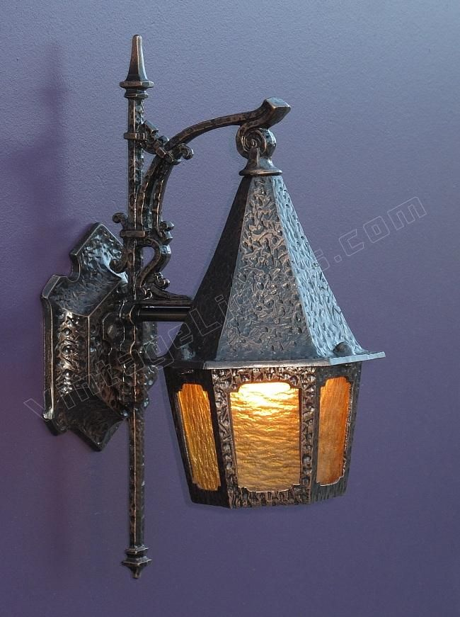 Vintage Outdoor Lantern | Bungalow Porch Light | Tudor Wall Sconce