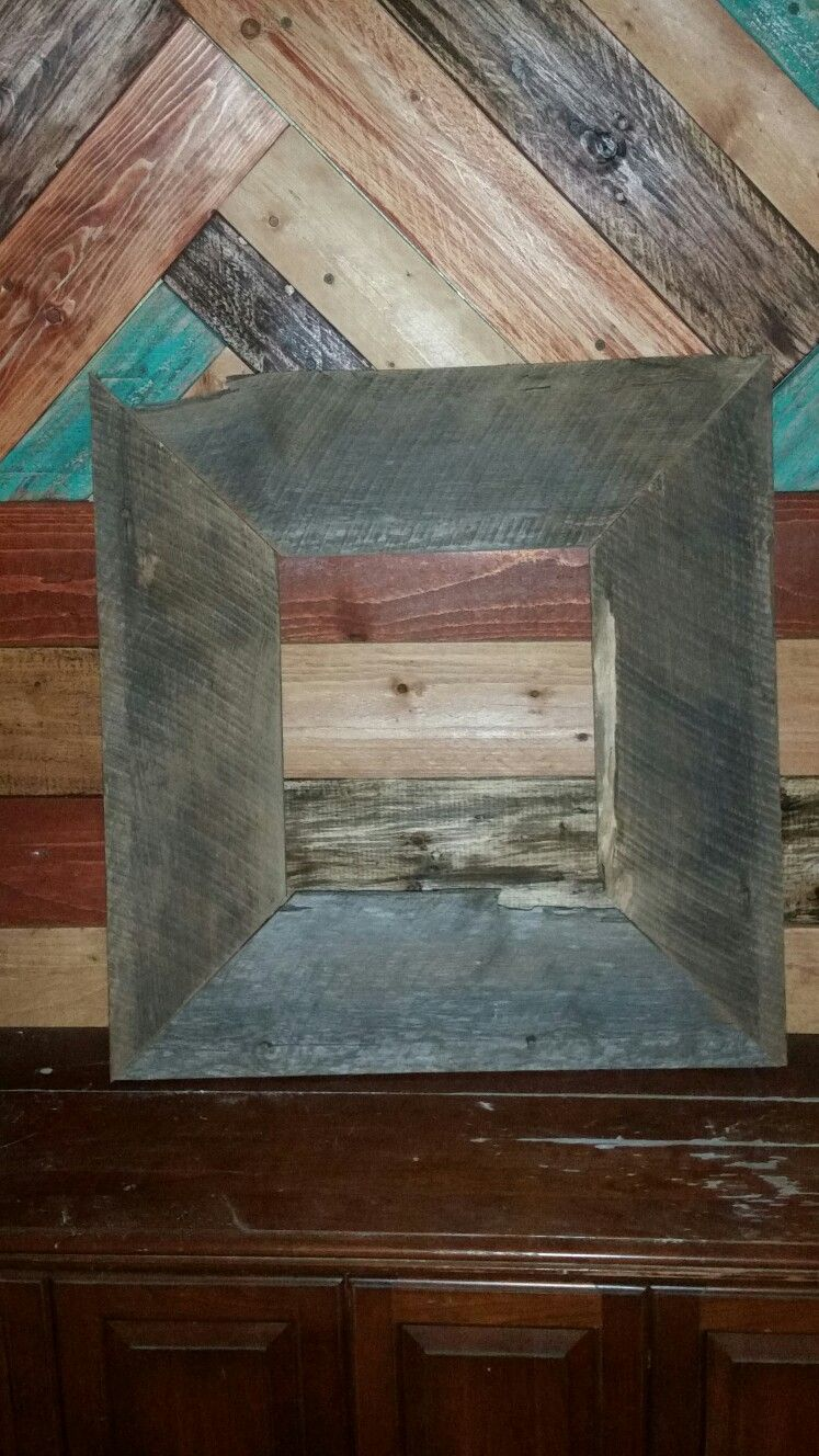 Barn wood pic frame | items for sale also look at wood work pins ...