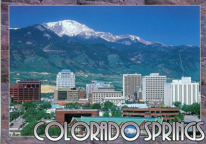 City Of Colorado Springs In Colorado Beautiful Places Colorado Wonderful Places