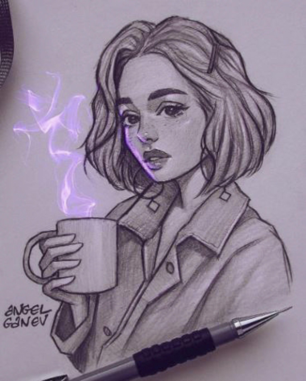Angel Ganev In 2020 Art Sketches Art Drawings Sketches Art Sketchbook