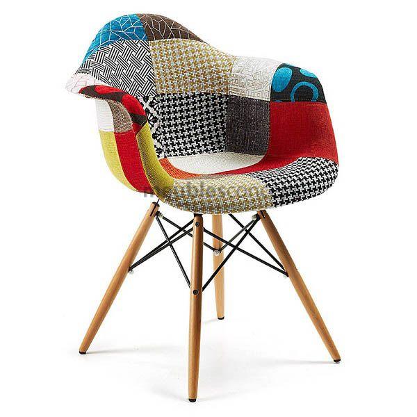Chaise Patchwork XL Style MEUBLES FURNITURES Pinterest - Fauteuil design patchwork