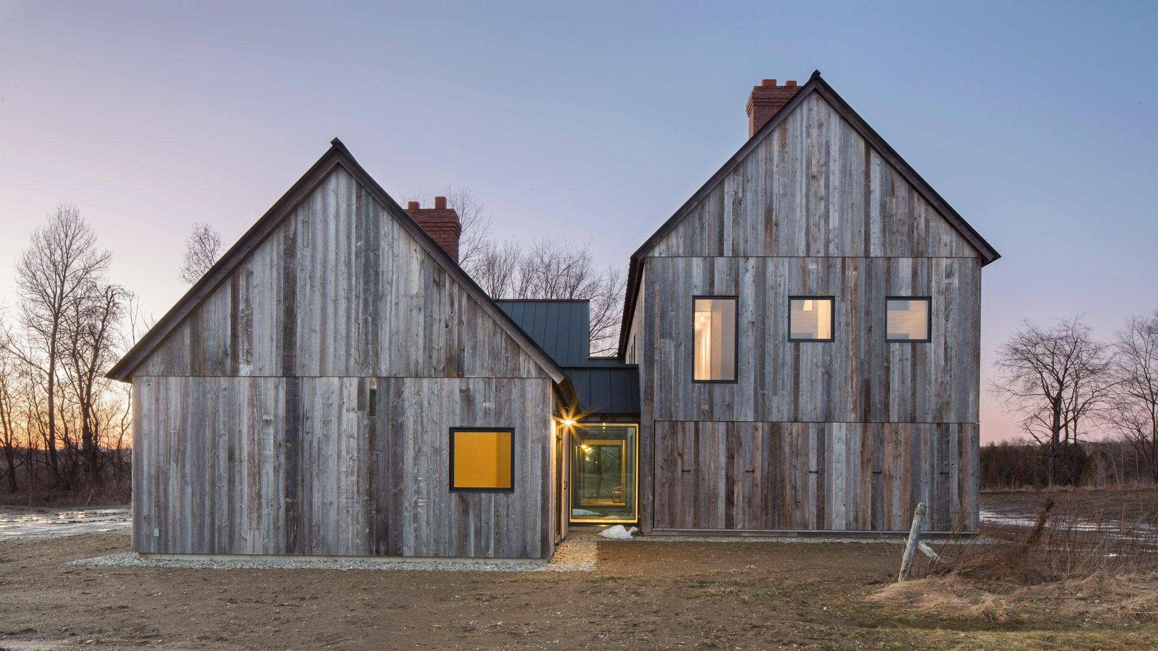 Farmhouse Architecture Features Old Agricultural Buildings Informed This Modern Farmhouse