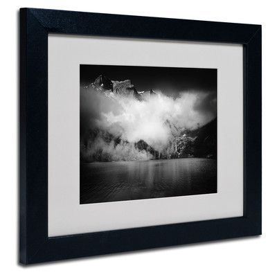 "Trademark Art 'Black Beauty' by Philippe Sainte-Laudy Framed Photographic Print Size: 11"" H x 14"" W x 0.5"" D, Frame Color: Black"