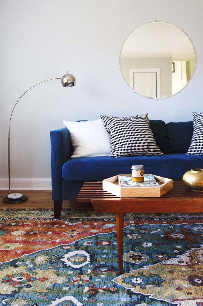 Best Living Room — Annabode Velvet Couch Living Room Blue 400 x 300