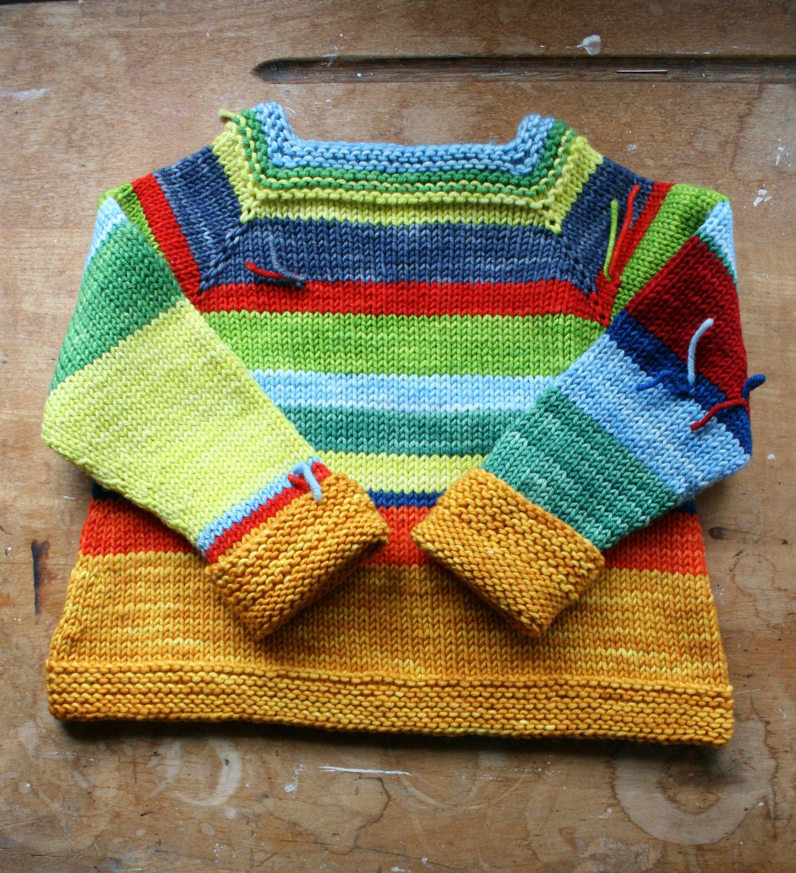 Scrappy sweater mostly improvised ish details on rav httpwww knitting ideas bankloansurffo Images
