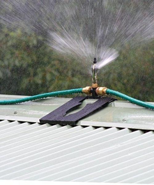 A5008 Adjustable Metal Roof Top Sprinkler For Shed House Dog House Fence And Sommerland Backyard Fences Modern Fence Wooden Fence