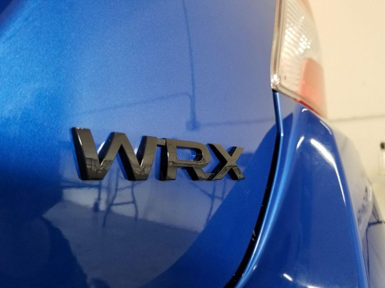 WRX Black Gloss or Matte Trunk Emblem (2015+ WRX/STI