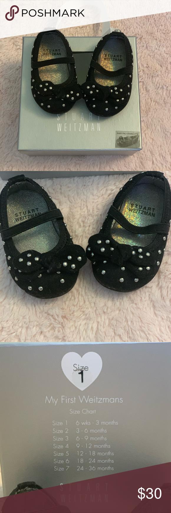 Stuart Weitzman baby shoes size 1