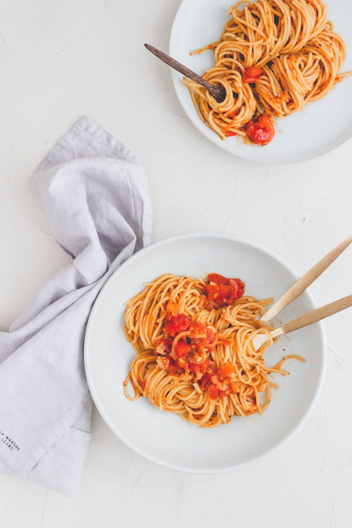 Bestes One Pot Pasta Rezept (vegan) | Aline Made
