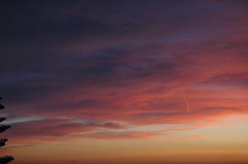 Un tramonto in gennaio a Bordighera (IM) : Un tramonto in gennaio a Bordighera (IM) | adrianomaini