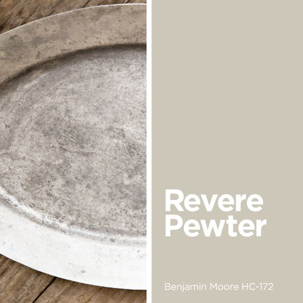 Reno Paint Mart >> Revere Pewter Benjamin Moore HC-172 | Our Favorite Colors ...