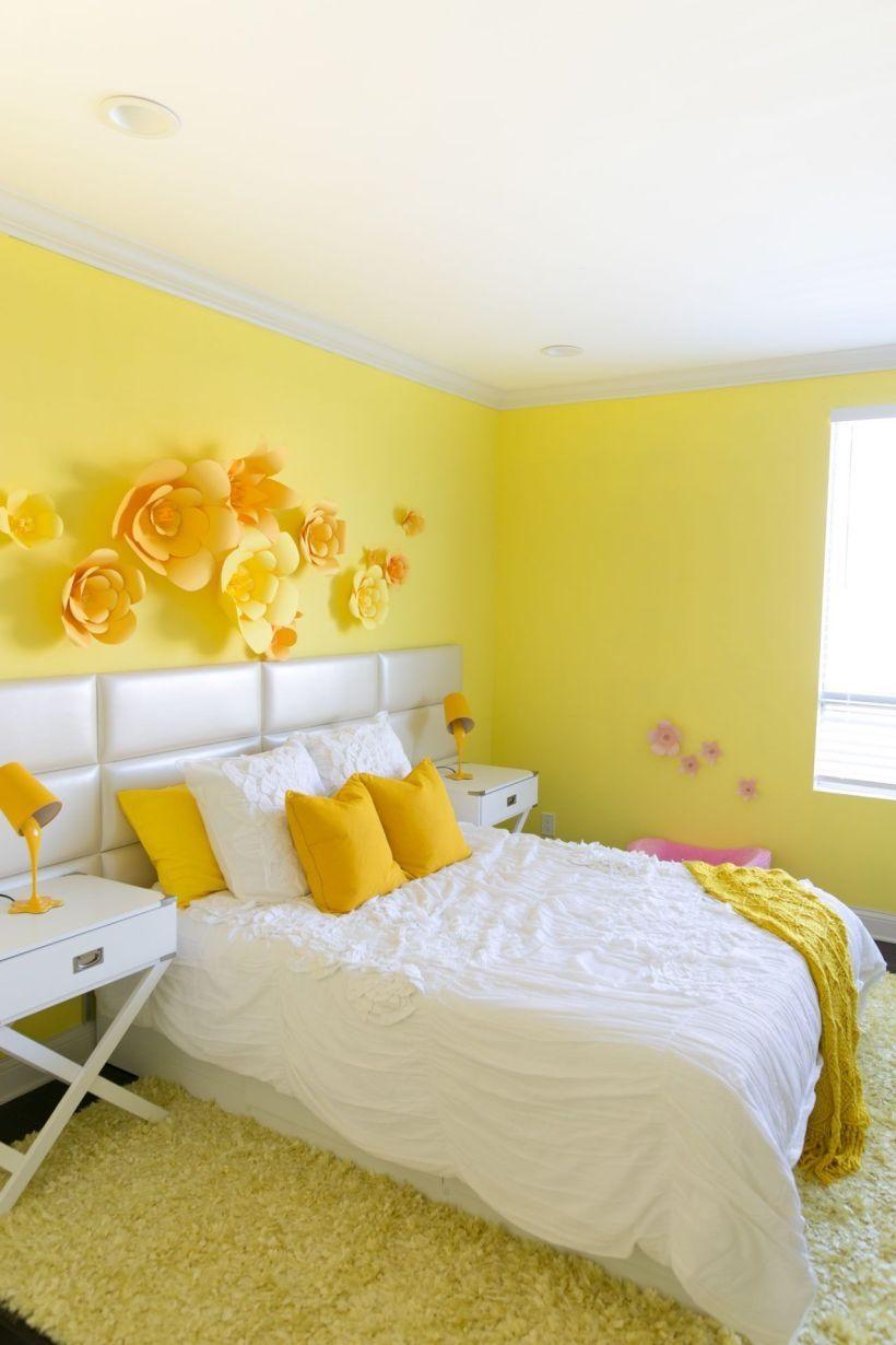 rengusuk.com - Interior & exterior design  Yellow room decor
