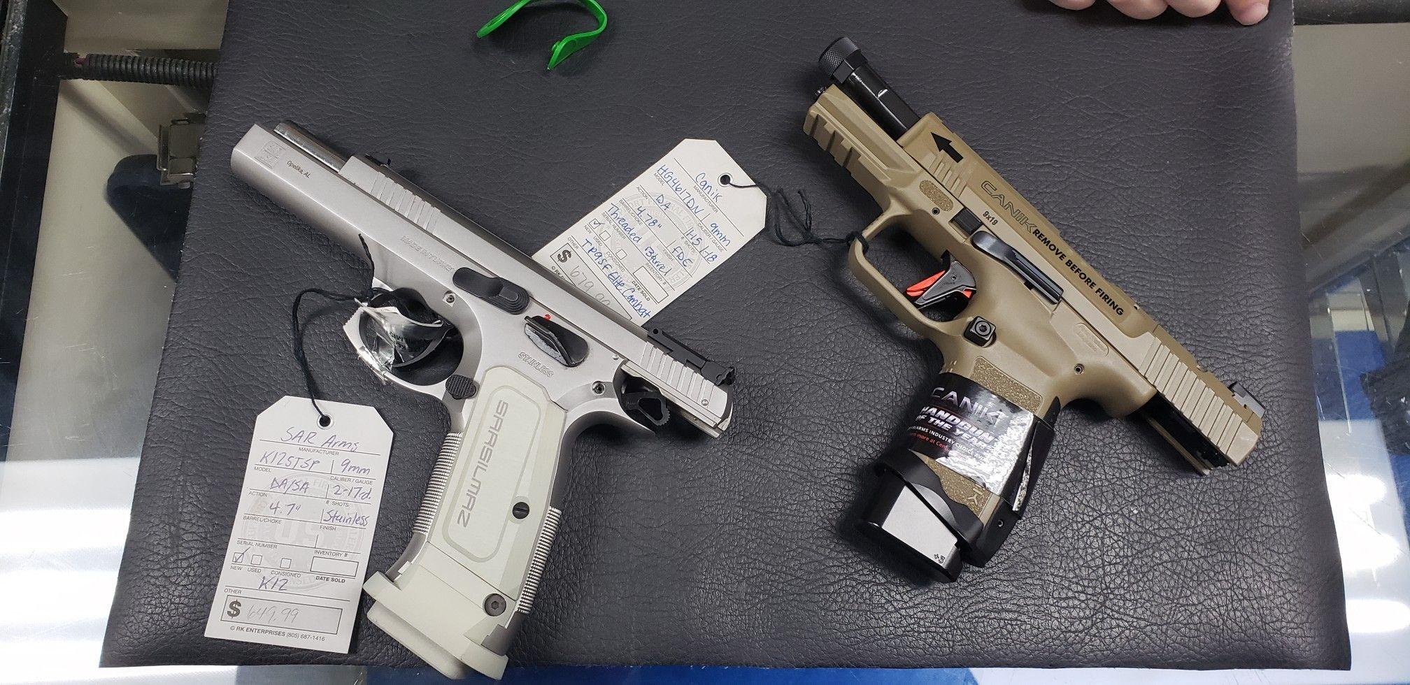 Canik Firearms Elite Sar Arms K12 Canik Sararms Hand Guns Sar Arms