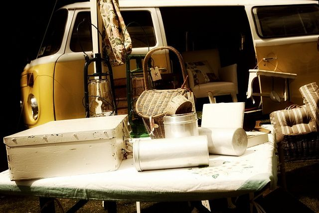 VW campervan vintage stall!
