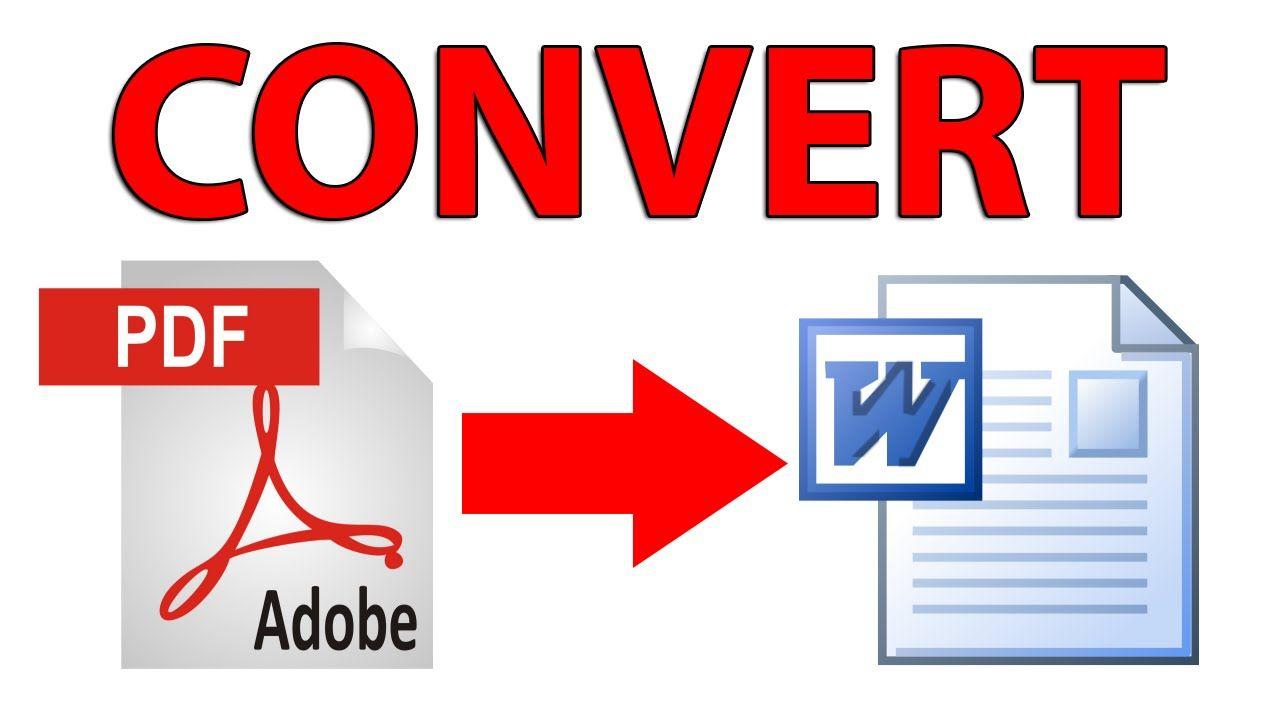 طريقة تحويل ملفات Pdf إلى Word Word App Word Free Converter