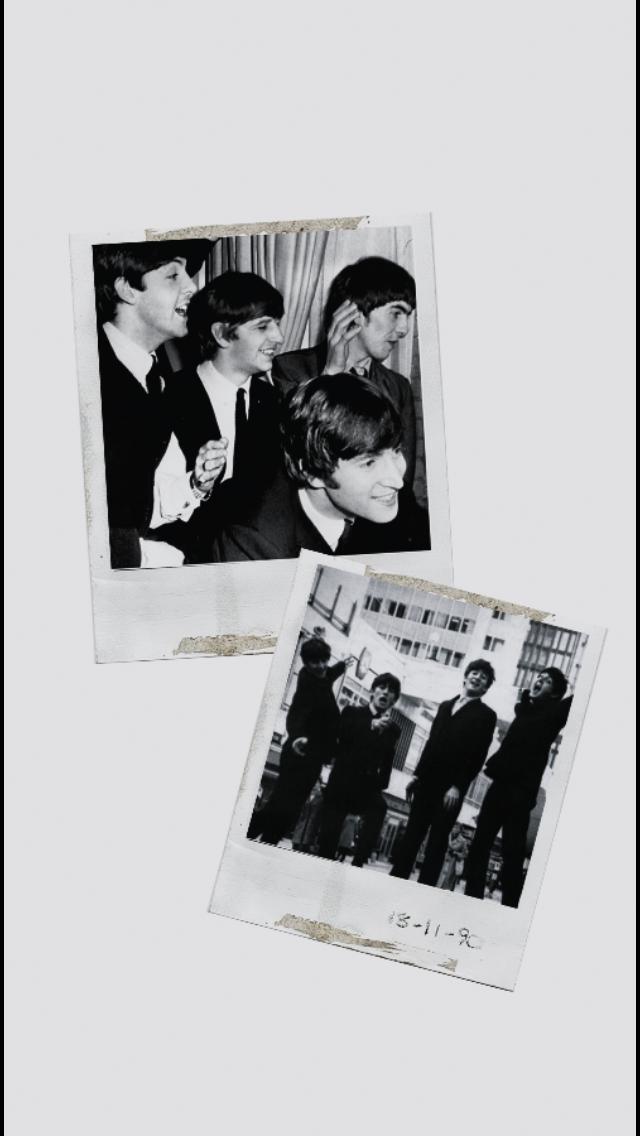 Beatles Lockscreen Beatles Wallpaper The Beatles Vinyl Painted