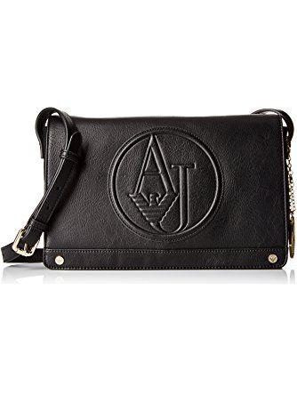 4536f602106e Armani Jeans Matte Eco Leather Crossbody