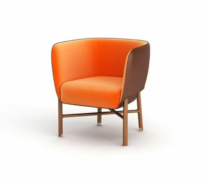 Impressionnant Fauteuil Orange Pas Cher Décoration Française - Fauteuil pas cher