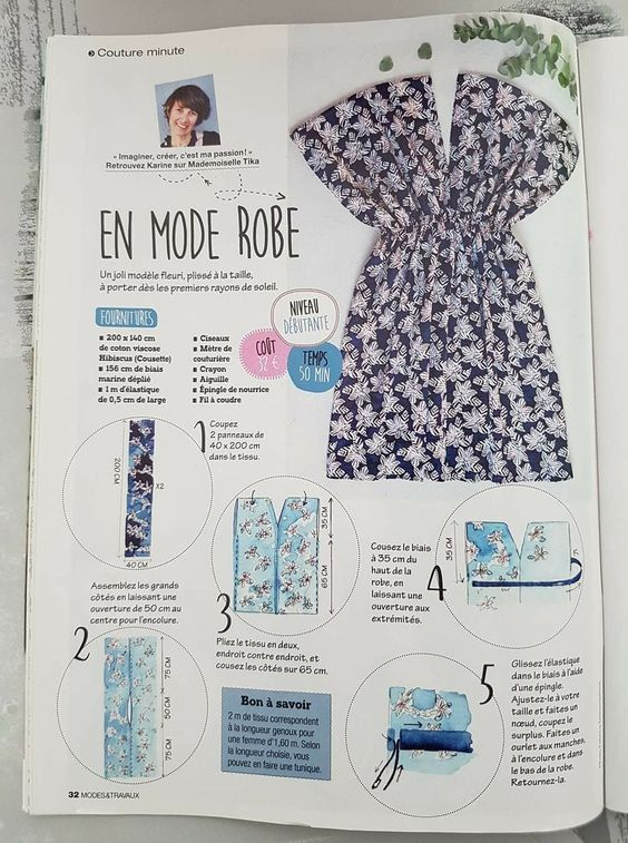 Image Patron Facile Pour Coudre Une Robe Skyrock Com Tuto Couture Facile Robe Couture Facile Patron Gratuit Tutoriels Pour Coudre Une Robe