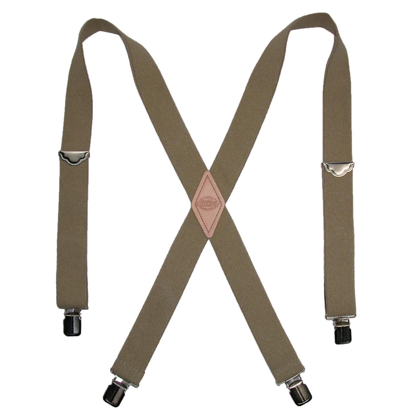 Dickies Men s Elastic Work Suspender Braces