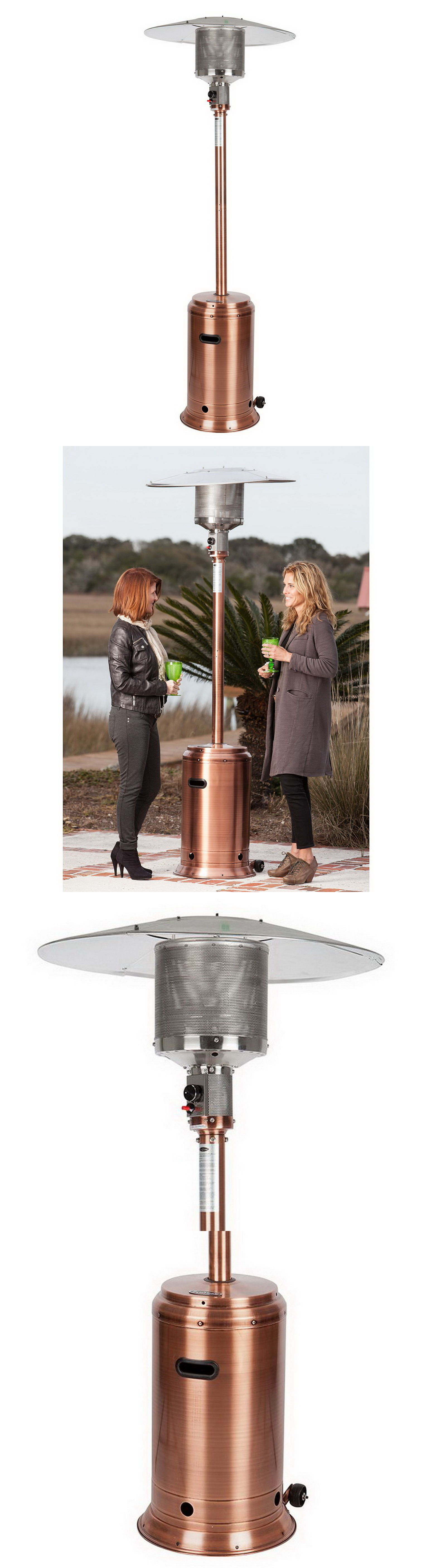 Patio heaters new outdoor patio heater copper finish