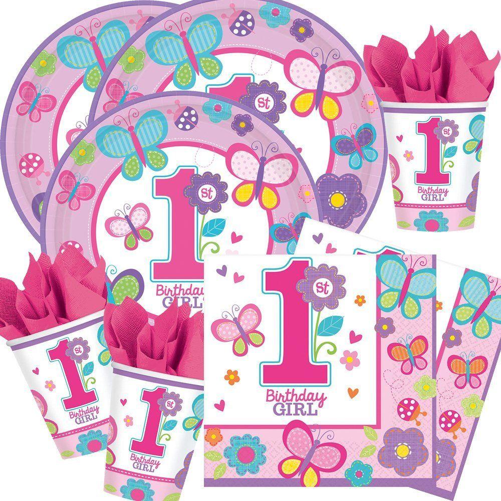 48 Teiliges Party Set 1 Geburtstag Madchen Sweet Birthday Girl