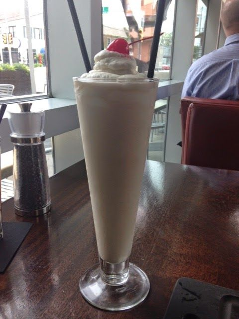 Adult Milkshake - Del Frisco's Grille Uptown Dallas