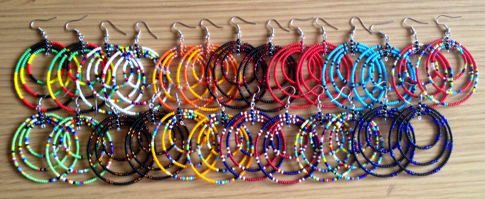 Ethnic jewelry, Hoop earrings and Handmade on Pinterest