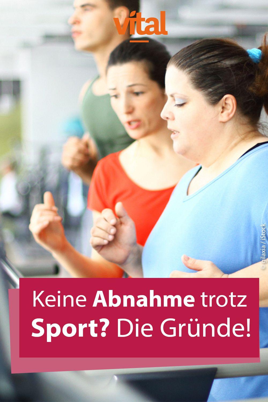 Keine Gewichtsabnahme Trotz Diät Und Sport