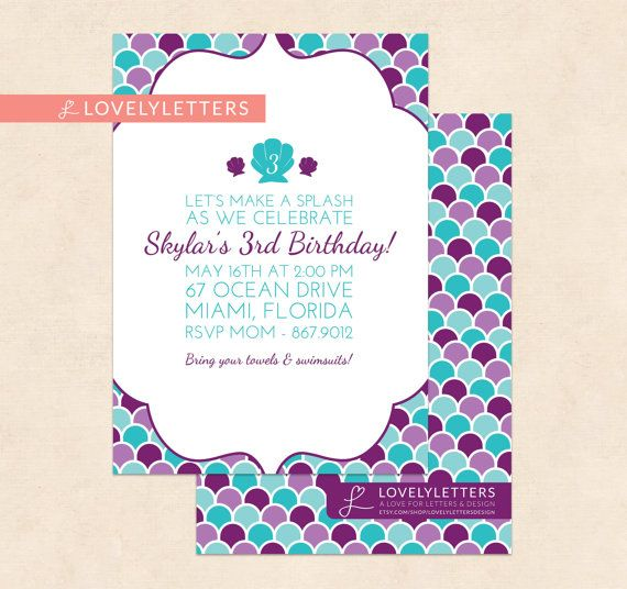 This is a 5x7 digital invitation in which you print yourself at your items similar to mermaid birthday invitation mermaid invitation with scales under the sea birthday under the sea invitation mermaid scales digital solutioingenieria Images