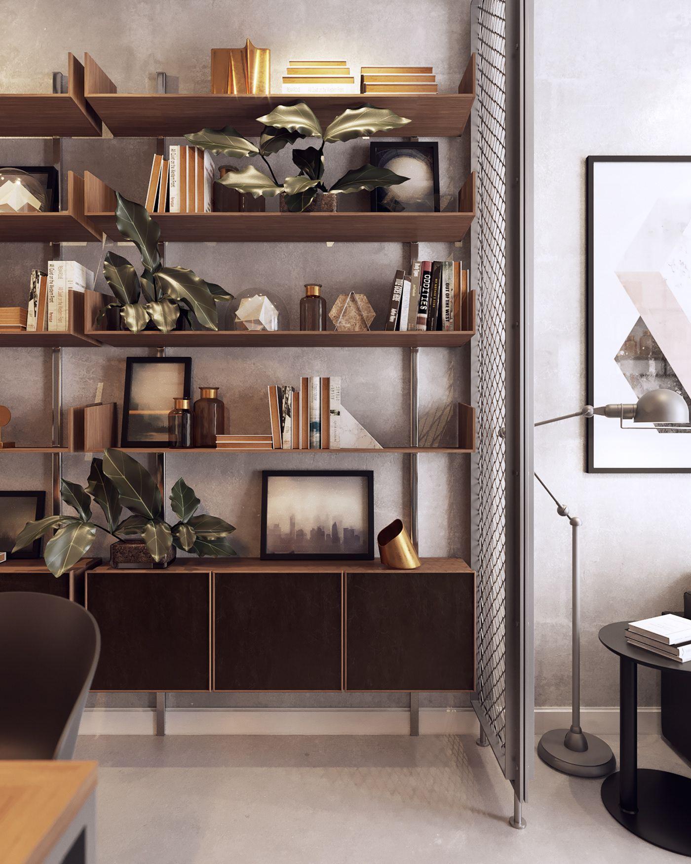Autodesk Room Design: Small Officetel!! On Behance