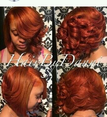 I Looooove This Hair Color Reminds Me Of Dark N Lovely Deep Copper Great Color For The Fall Season D Hair Color Orange Hair Color Options Hair Styles