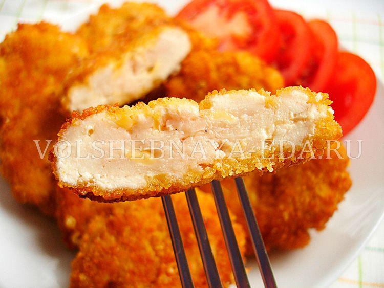 Приготовление наггетсов из курицы
