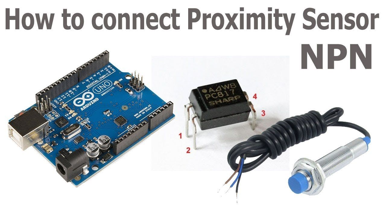 Using Inductive Proximity Sensors With Arduino Tech Pinterest The Sensor We Will Use In This Circuit Is A Tcs3200 Color