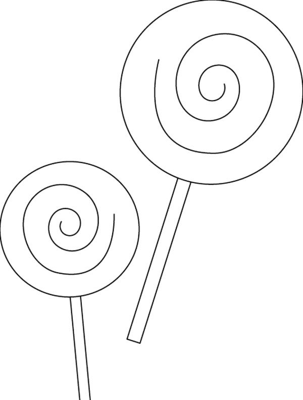 swirl lollipop coloring page sketch coloring page