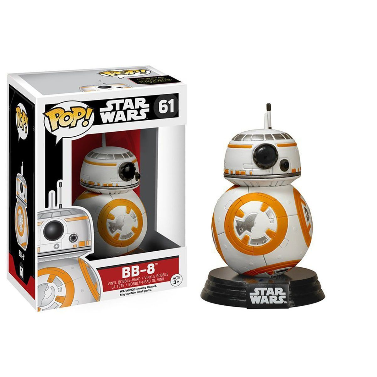 This Is The Star Wars Force Awakens Bb 8 Pop Vinyl Figure That Is Produced By Funko Bb 8 Is Poised For With Images Funko Pop Star Wars Pop Bobble Heads Pop