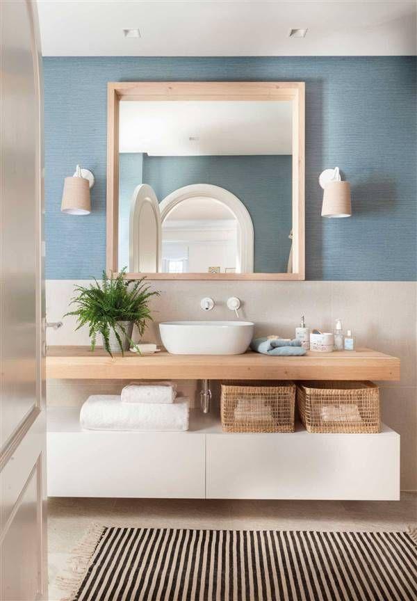 Todo al blanco | Muebles baño moderno, Decorar baños ...