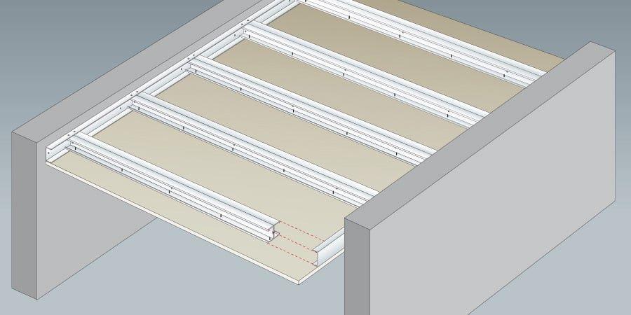 Guide Pratique Installer Un Plafond Autoportant Plafond