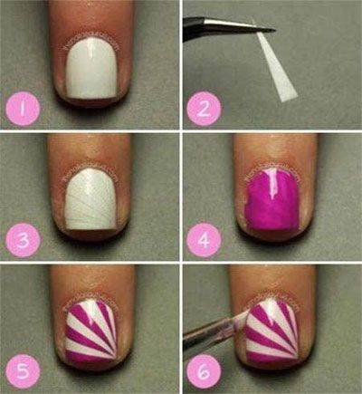25 very easy simple step by step nail art tutorials for 25 very easy simple step by step nail art tutorials for beginners learners 2014 prinsesfo Image collections